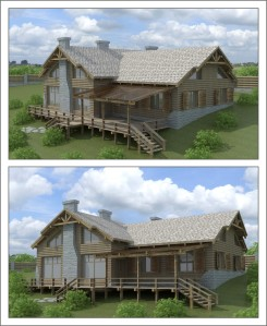 Удаленное проектирование дома в стиле Шале